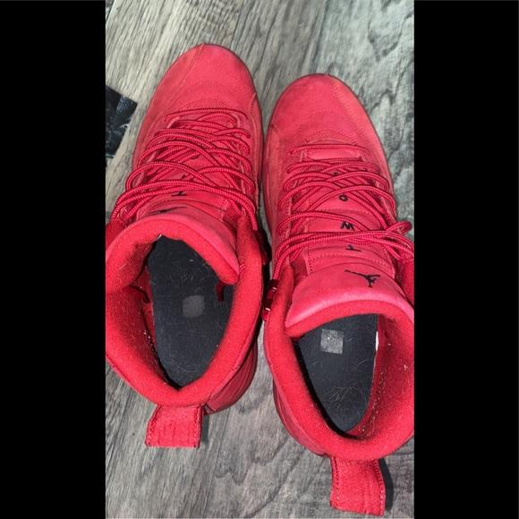 Jordan Shoes | Red Suede 12s | Poshmark